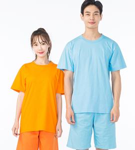 라운드형 찜질복_오렌지/소라 (B166_172)
